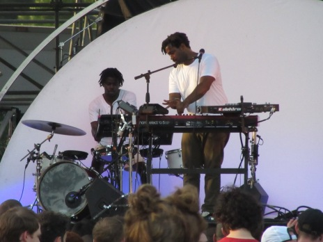 Sampha at the Mann