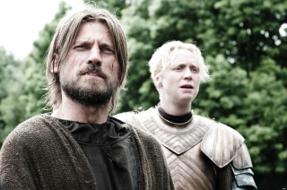 Game of Thrones Jaime Lannister and Brienne of Tarth