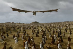 Game of Thrones Dragons In Season Seven