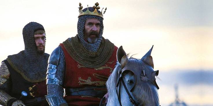Stephen Dillane as Edward I In The Outlaw King