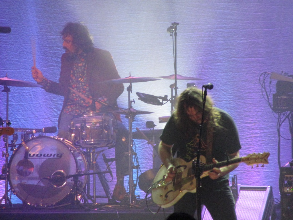 Charlie Hall and Adam Granduciel of The War on Drugs at the Tower Theater, 12/21/18