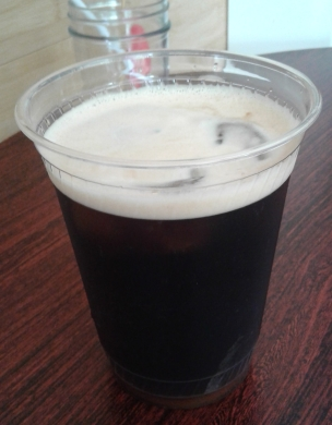 Nitro Cold Brew Coffee at the Mello Moose Coffee House