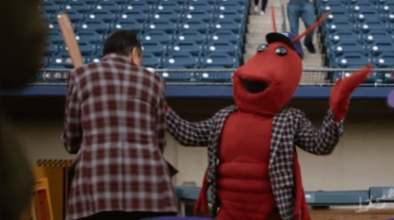 Brockmire's Crawdaddy Mascot