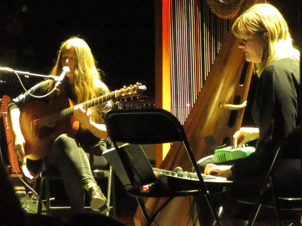 Meg Baird and Mary Lattimore at Union Transfer 2/2/19