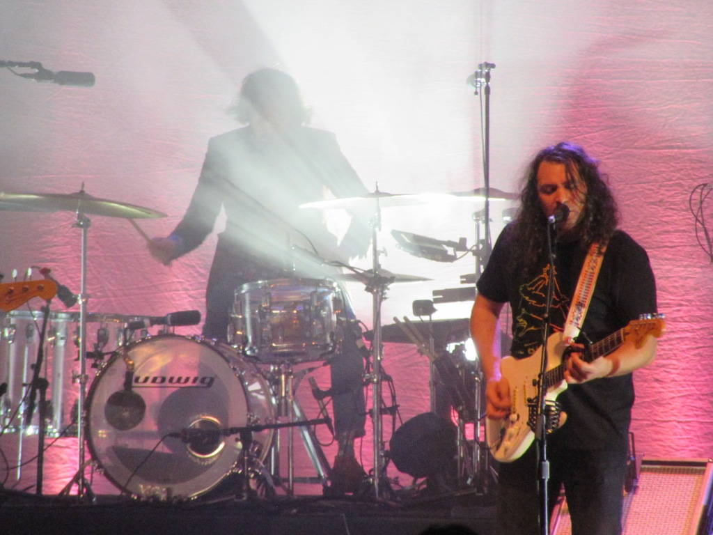 Adam Granduciel and Charlie Hall of The War on Drugs at the Tower Theater, 12/21/18