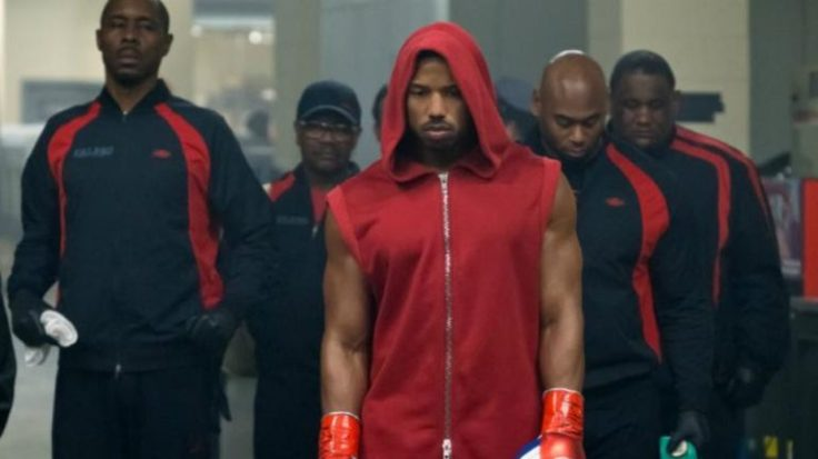 Michael B. Jordan in Creed II