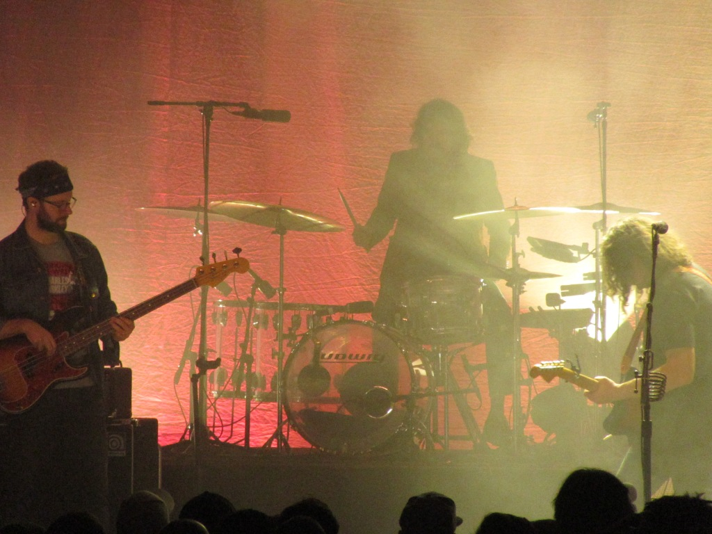 Adam Granduciel, Charlie Hall, and Dave Heartley of The War on Drugs at the Tower Theater, 12/21/18