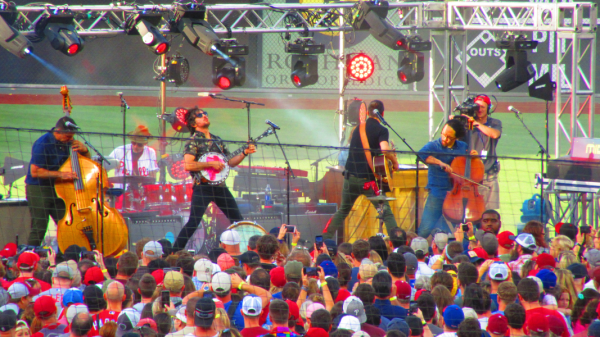 Avett Brothers Phillies Postgame Concert At Citizens Bank Park
