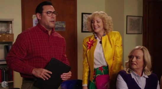 Ruben Amaro Jr. As Ruben Amaro Sr. On The Goldbergs