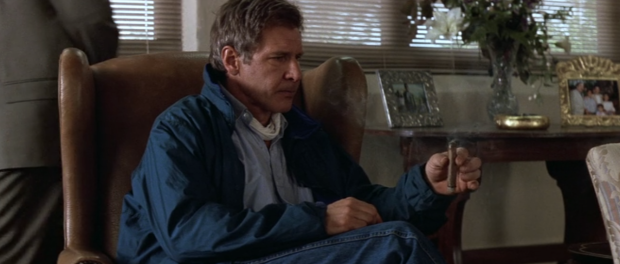 Harrison Ford as Jack Ryan in Clear and Present Danger