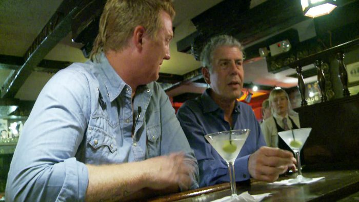 Anthony Bourdain and Josh Homme