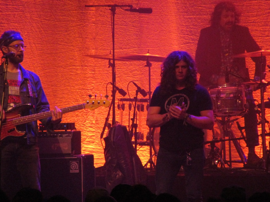 Dave Hartley of The War on Drugs and Phil Vile at the Tower Theater, 12/21/18