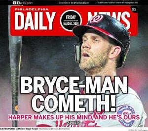 Philadelphia Daily News Bryce Harper