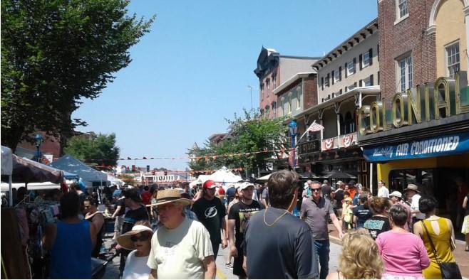 2018 Blobfest Street Fair, Phoenixville, PA