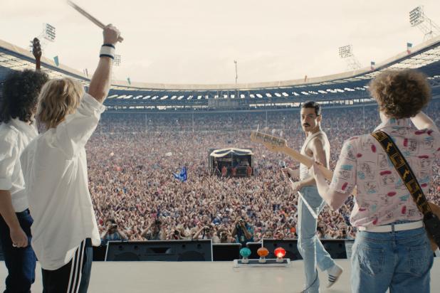 Bohemian Rhapsody's Live Aid scene
