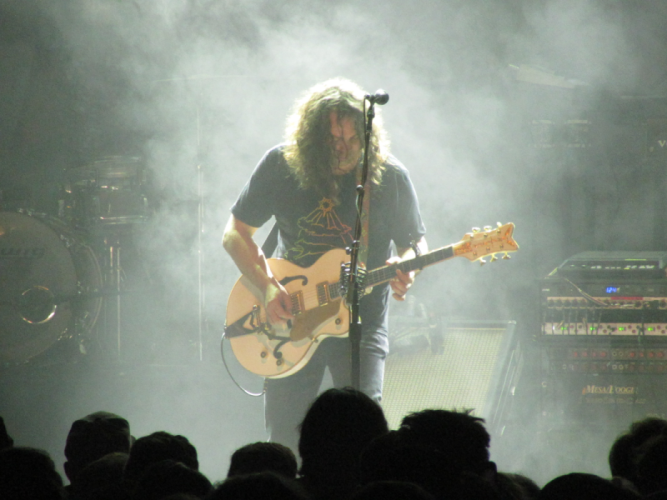 Adam Granduciel of The War on Drugs at the Tower Theater