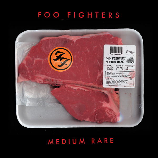 Foo Fighters Medium Rare Album Cover