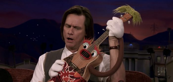 Jim Carrey as Jeff Pickles in Showtime's Kidding